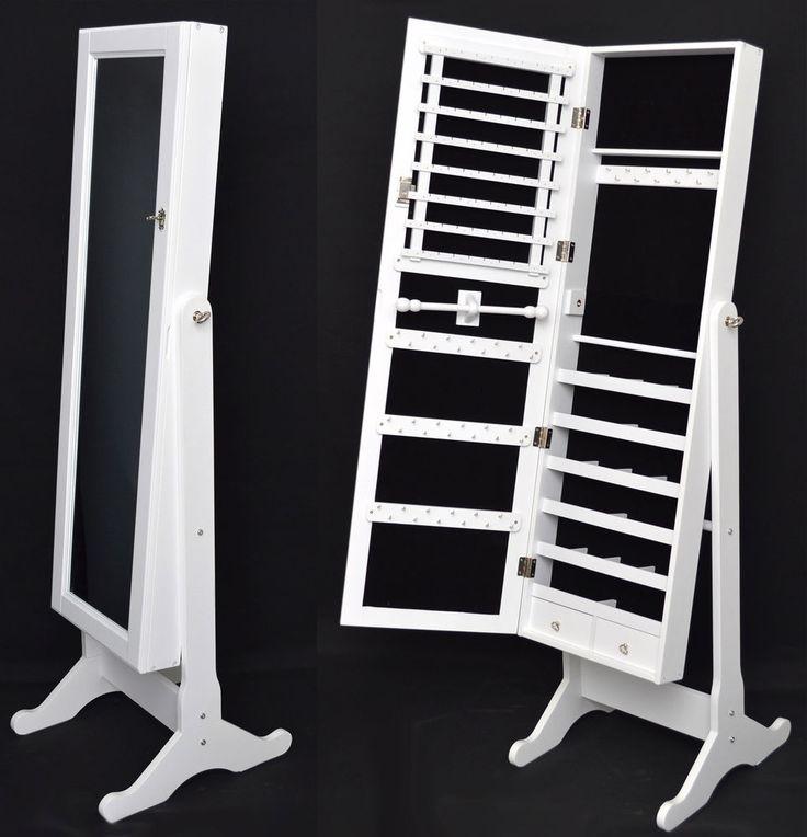 armario tocador con espejo guarda joyas blanco cm nuevo