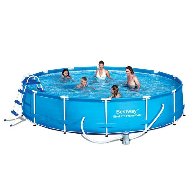 Bestway 15ft x 36in Steel Pro™ Frame Pool Set (12,627L)