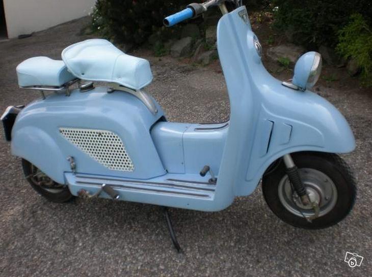 Scooter Guiller fabriqué à Fontenay-le-Comte
