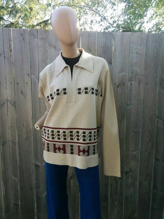 Check out this item in my Etsy shop https://www.etsy.com/listing/461788108/vintage-1960s-tan-autumn-colors-knit