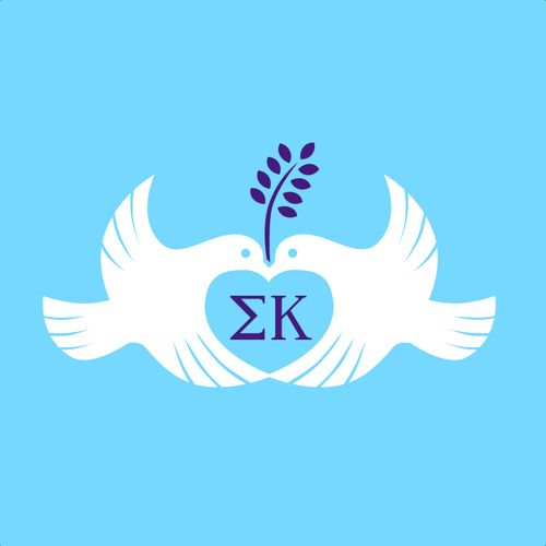 sk doves and heart