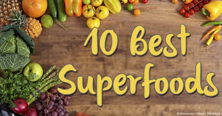 superfoods list and benefits pdf