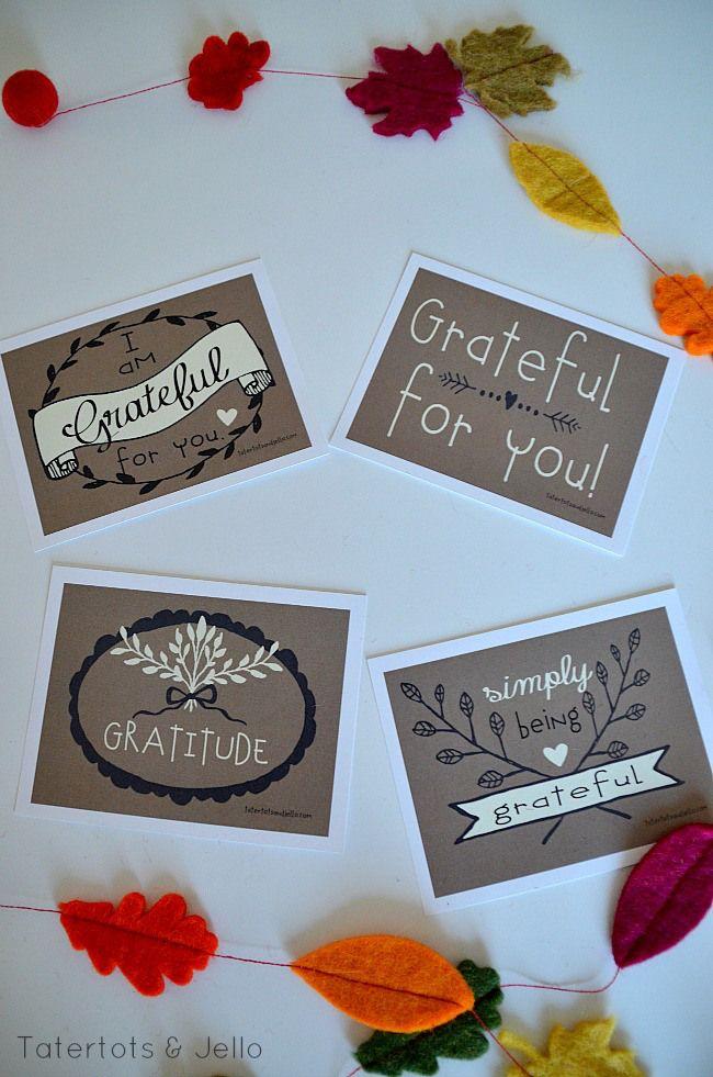 have a grateful heart free thanksgiving printable. Black Bedroom Furniture Sets. Home Design Ideas