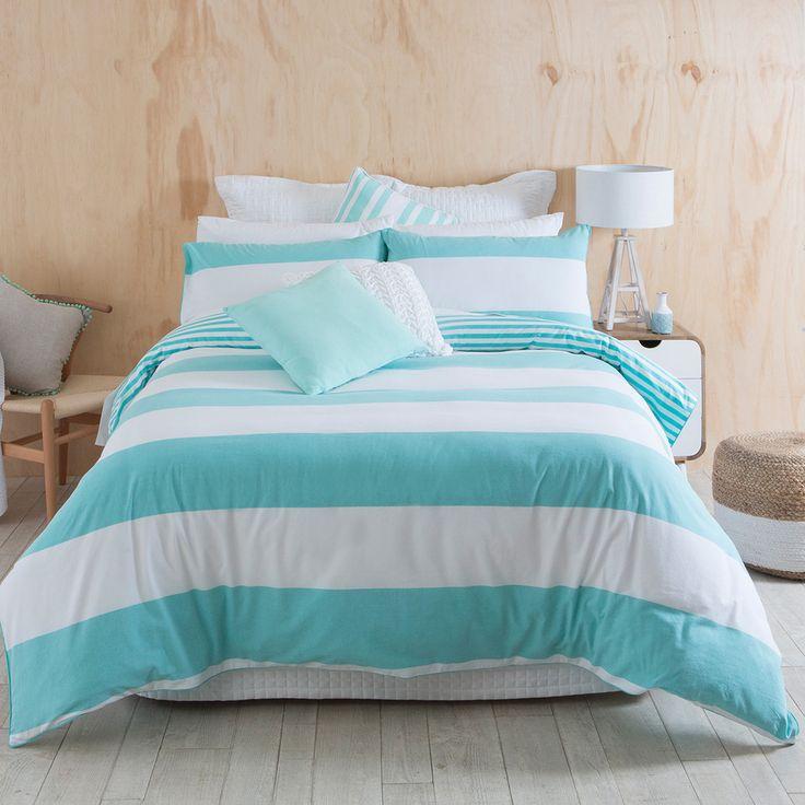 Kirra Azure Quilt Cover Set   Pillow Talk