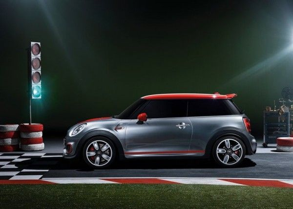2014 Mini John Cooper Works Redesign 600x429 2014 Mini John Cooper Works Concept and Images
