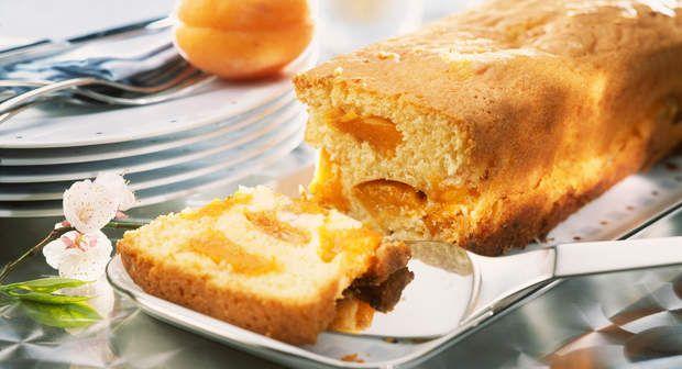 Cake aux abricotsVoir la recette >>