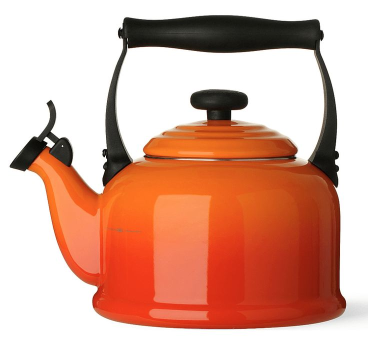Orange Le Creuset Kettle