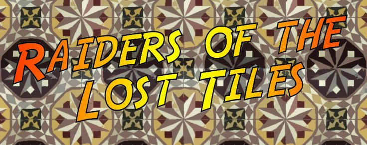 Chez Nous N°21 : Raiders of the Lost Tiles This week I was supposed to write up about pictures and framing but after being tipped off about a lot of antique cement tiles for sale on le bon coin, I present you the RAIDERS OF THE LOST TILES instead.