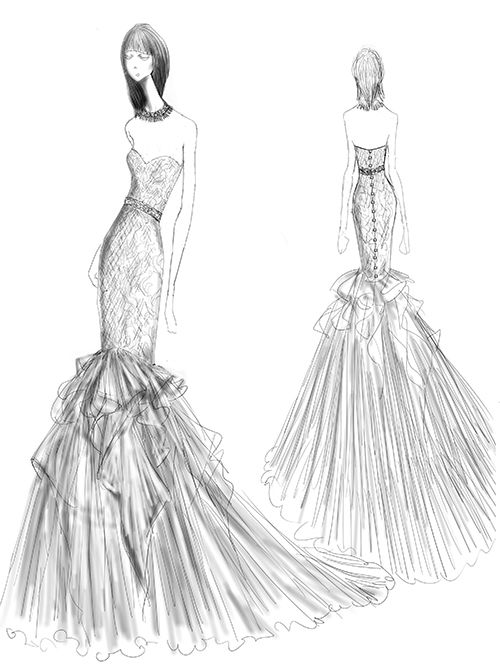 Cristiano Lucci First Look Collection Sketches