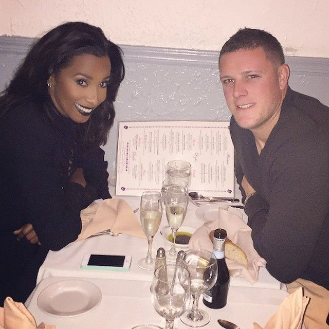 Gorgeous interracial couple on a romantic dinner date #love #wmbw #bwwm #swirl #relationshipgoals