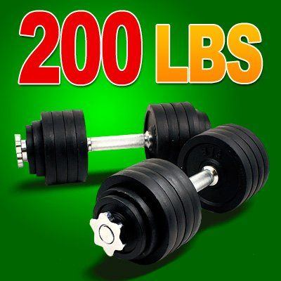 New 200lbs Total, one Pair of Adjustable Dumbbells Kits - 200 Lbs (100lbs x 2pc) + Free 5 Resistance Band Kit http://adjustabledumbbell.info/product/new-200lbs-total-one-pair-of-adjustable-dumbbells-kits-200-lbs-100lbs-x-2pc-free-5-resistance-band-kit/
