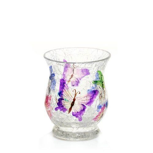 Yankee Candle Butterfly Crackle Votive Holder