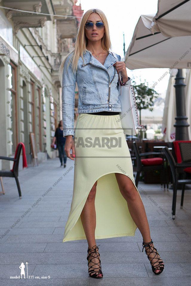 Spódniczka cytryna | Odzież damska http://fasardi.com/product-pol-8245-Spodniczka.html