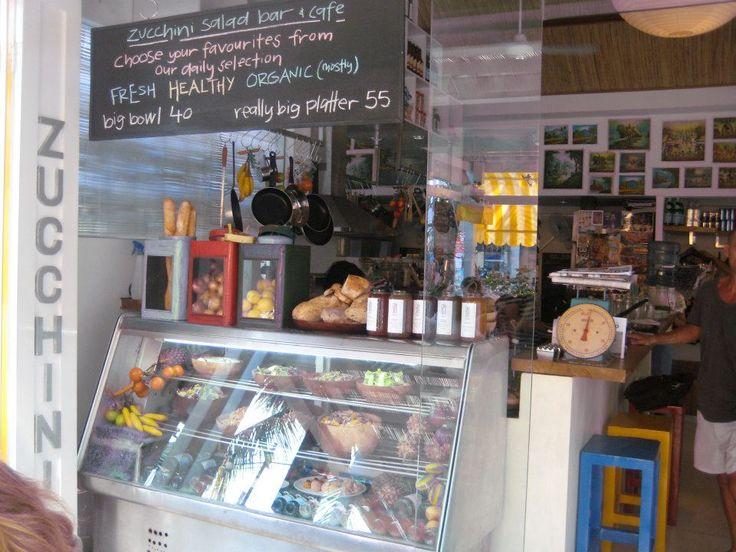 Salad Bar at Cafe Zucchini in #Seminyak
