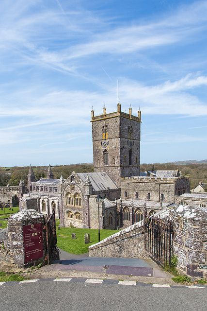 St Davids Cathedral - Pembrokeshire, Wales