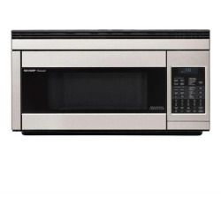 Cheap Sharp R1874T 1.1 Cu. Ft. Over the Range Microwave Oven with 850 Cooking Watts in Stainless Steel