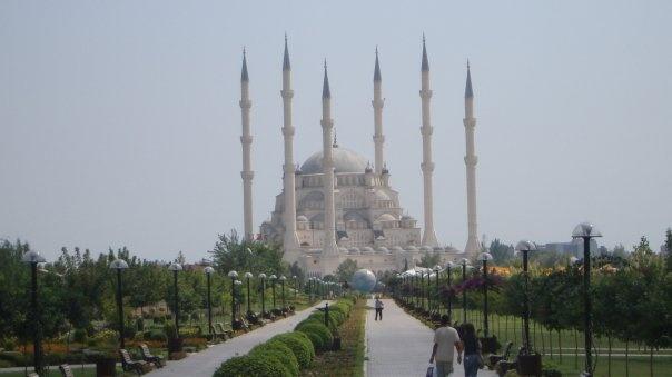 Sabancı Merkez Camii Mosque, Adana, Turkey, August 2006