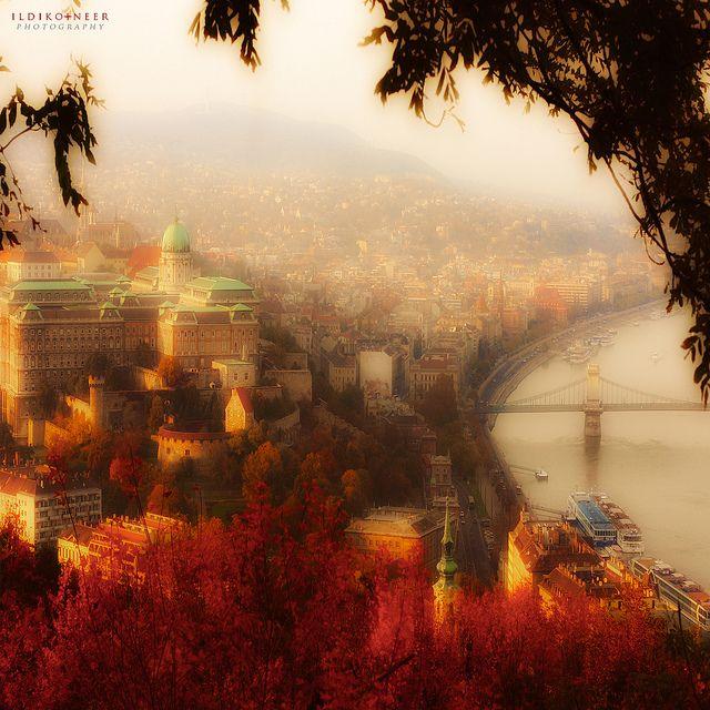 Budapest by ildikoneer, via Flickr