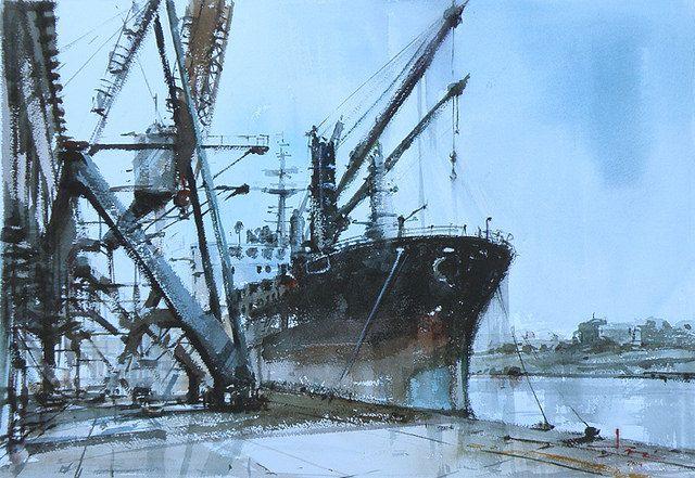 Port Kembla by tony belobrajdic, via Flickr