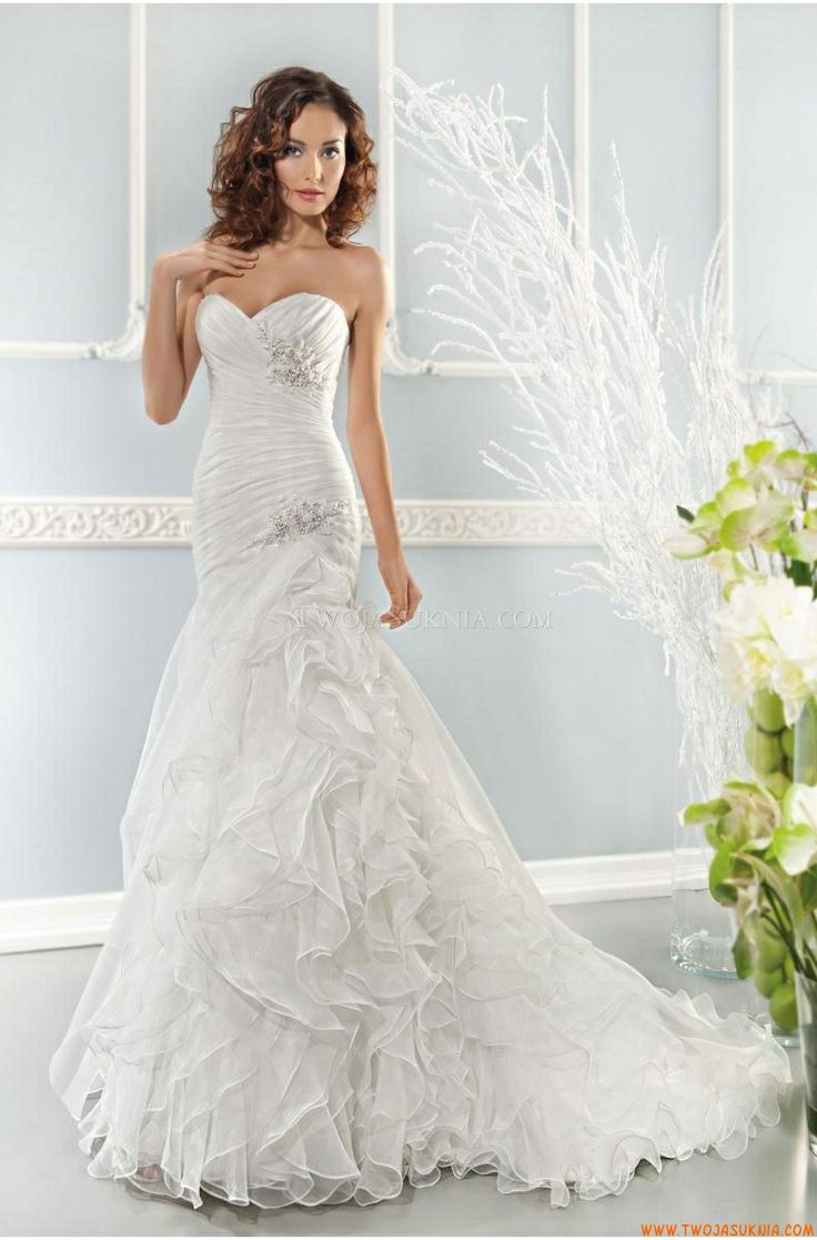 20 best wedding dress 2014 images on Pinterest | Short wedding gowns ...