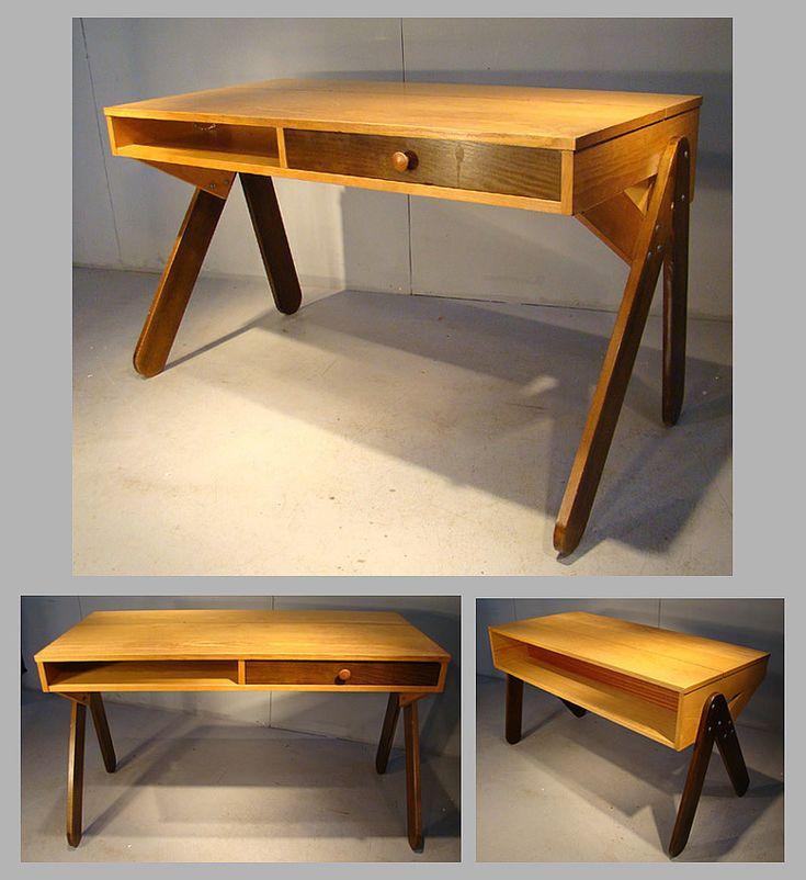 17 best images about bureaux design vintage on pinterest. Black Bedroom Furniture Sets. Home Design Ideas