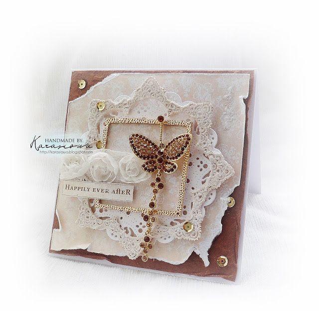 Scrap Shop: Kartka z motylem