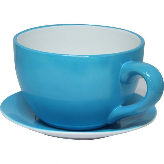 Teacup Planter - Teal