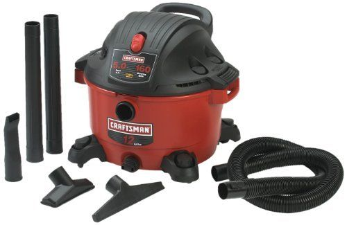 Craftsman 9-17765 12 Gallon 5.0 Peak Horsepower Wet and Dry Vacuum, http://www.amazon.com/dp/B007KHC3UQ/ref=cm_sw_r_pi_awdm_NHlbub0AH04TQ