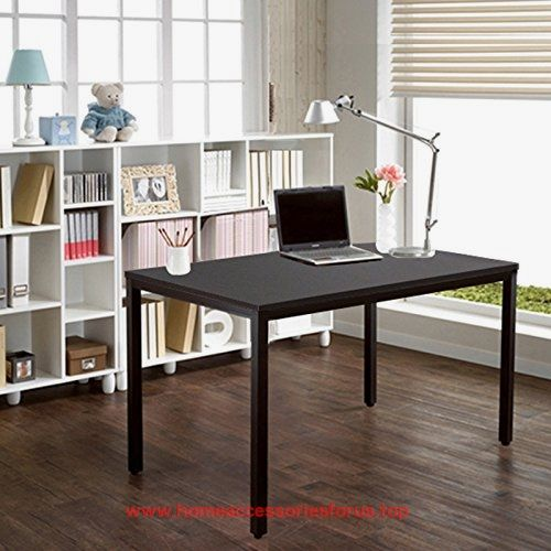sleek office desk. need computer desk 47u2033 table sturdy office writing black brown ac3cb sleek
