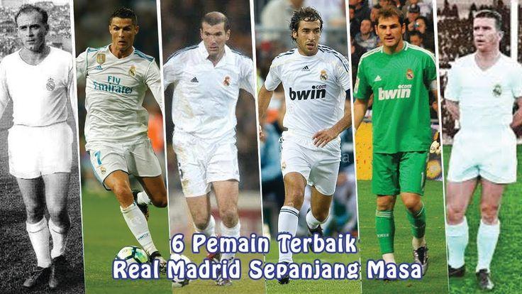 6 Pemain Terbaik Real Madrid Sepanjang Masa