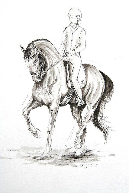 MZ - horse art: Trot