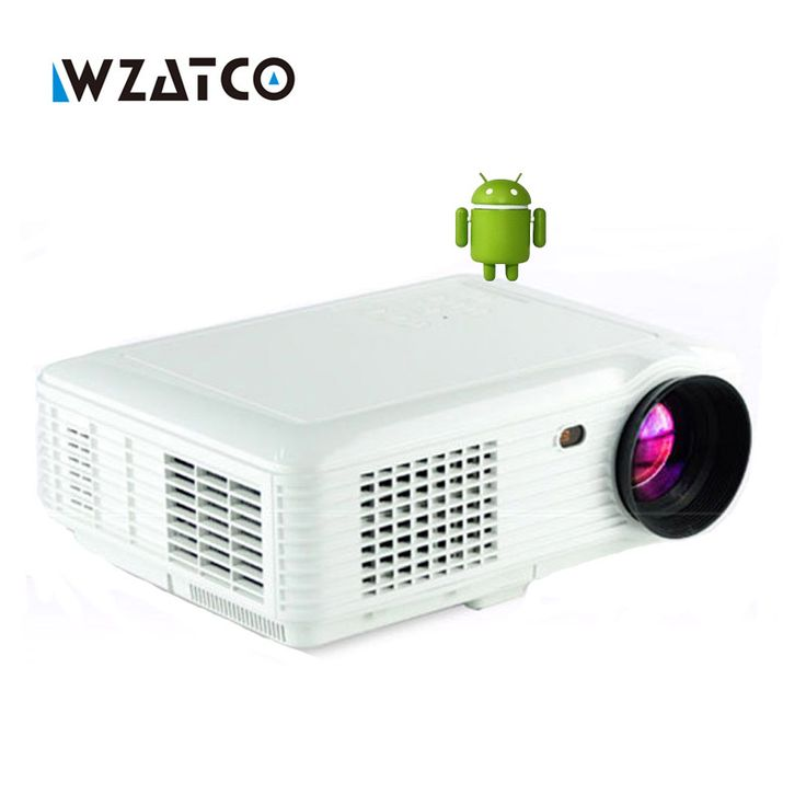 >> Click to Buy << 5000lumens Android 4.4 Bluetooth Smart WIFI 1080P portable mini LED digital HD TV home video USB Projector proyector beamer #Affiliate