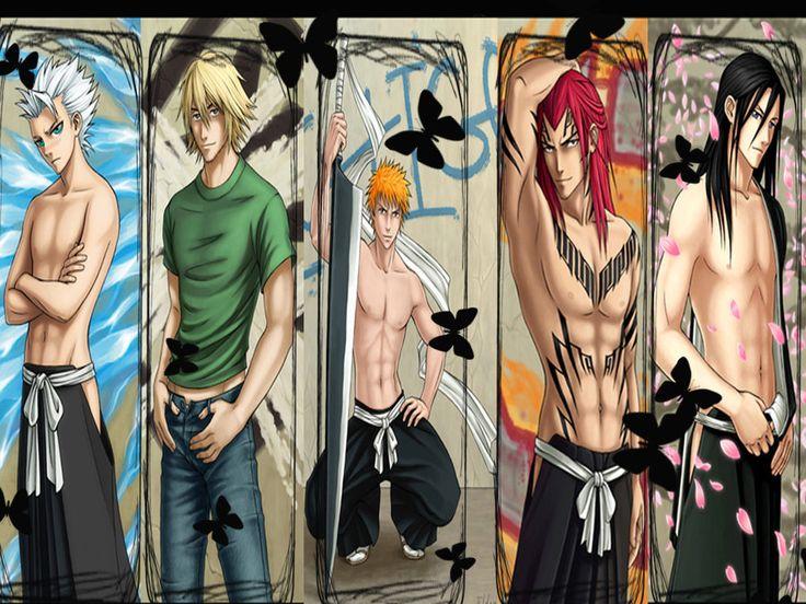 Bleach guys fanart wallpaper