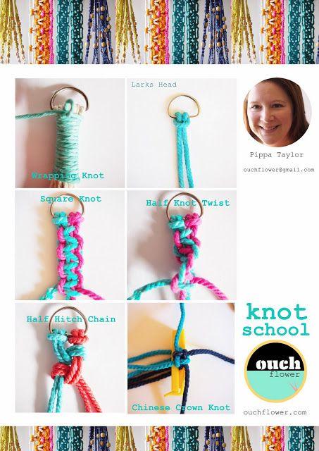 macrame knots!