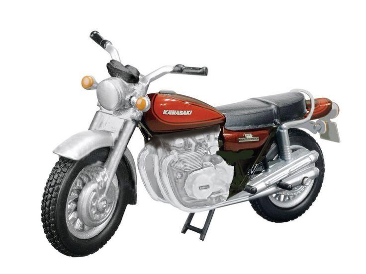 Kawasaki 900 Z1 Diecast Model Motorcycle
