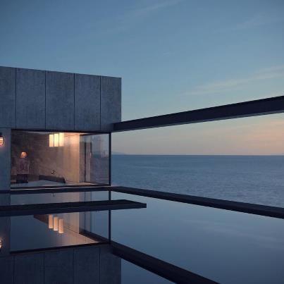 zwembad op het dak....