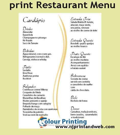 print restaurant menu prices arts arts