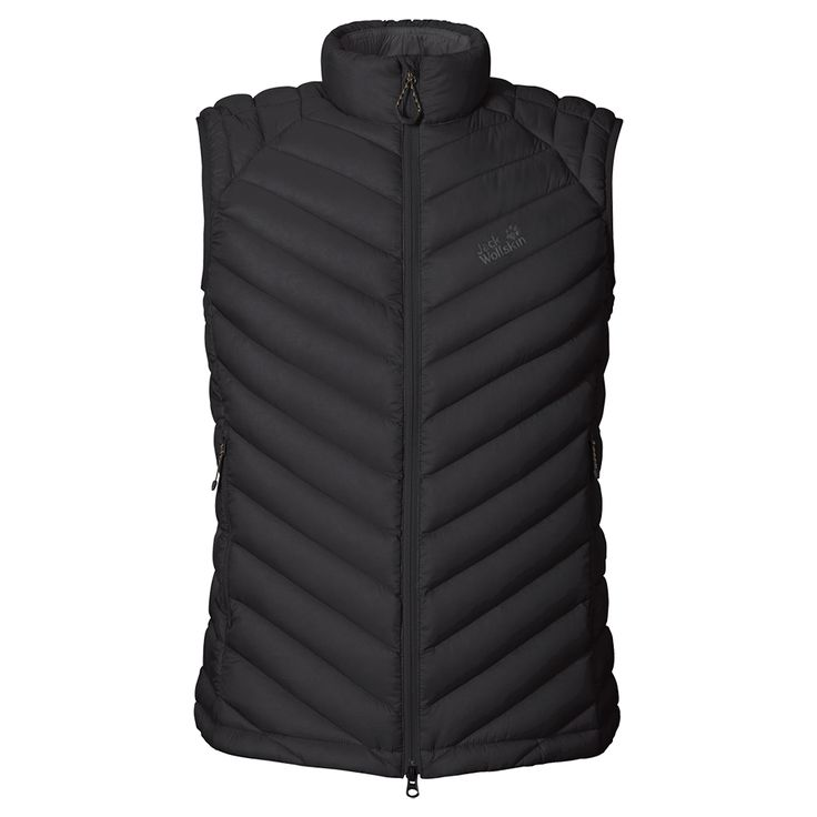 Windproof hybrid gilet with a down and synthetic fibre filling - Gilets - Jackets - Apparel - Men - Jack Wolfskin International