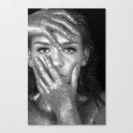 THREE PENTA THREEPENTA Glitter Canvas Print