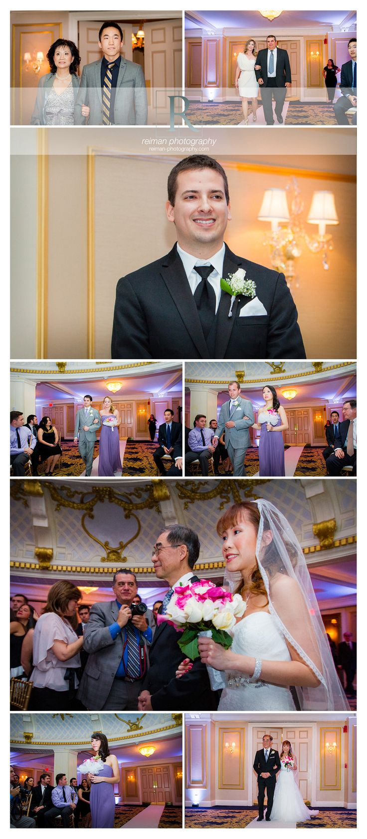 Elegant Wedding at the Lenox Hotel