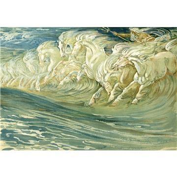 Neptune's Horses by Walter Crane