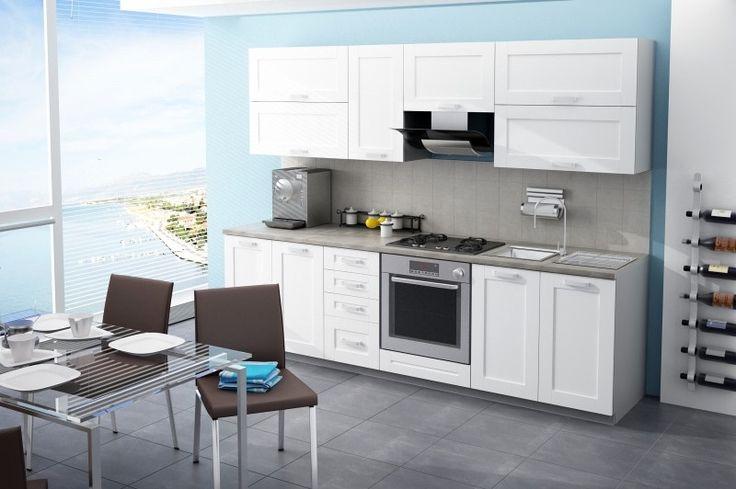 Kche Wenus 260 Cm Kchenzeile Kchenblock Variabel Stellbar In Intended For Küche Günstig Bauen Haus Dekorieren How To Paint Kitchen Cabinets Mit Tipps