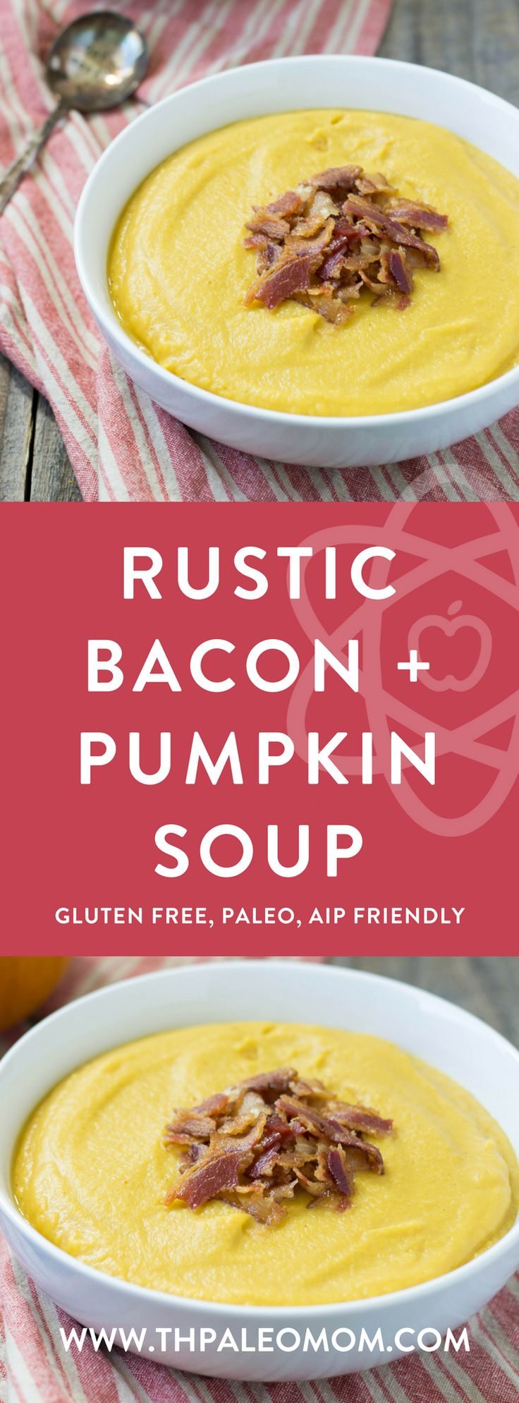 Rustic Bacon and Pumpkin Soup   The Paleo Mom