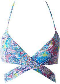 Bikini Trójkątne Wzór Paisley Pungitopo