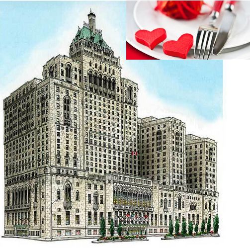 Celebrate love at Toronto's most romantic hotel this Valentine's Day -  Fairmont Royal York