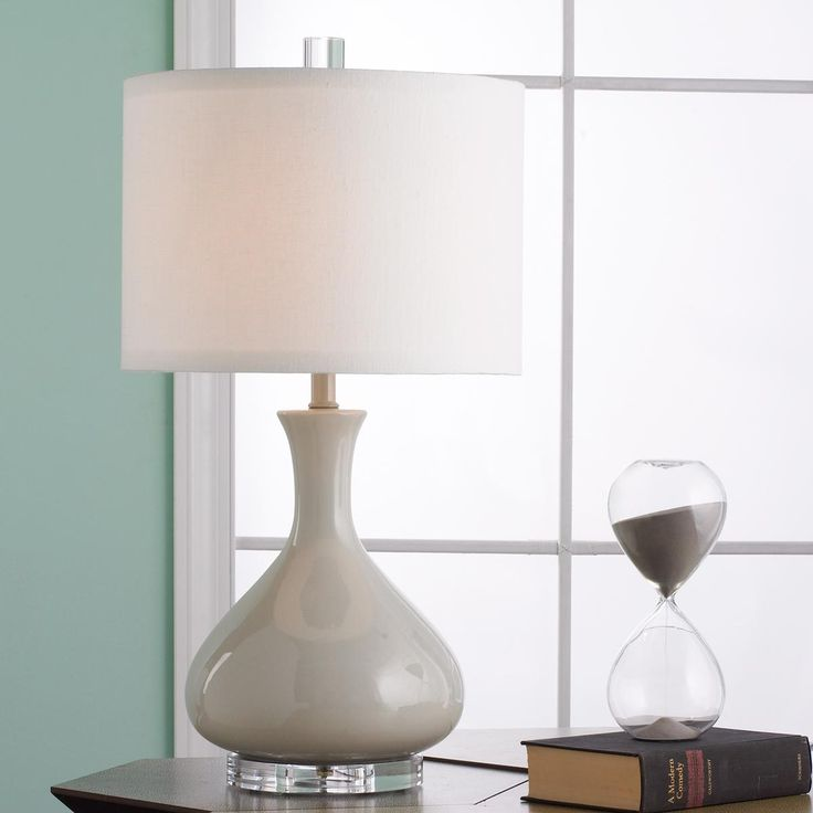 kiss ceramic gourd table lamp available in 12 colors: beige, black, Möbel