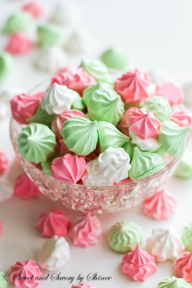 Light as air, melt-in-your-mouth sweet little meringue cookies are fun ...