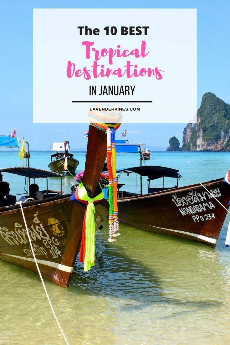 Best Tropical Destination to Visit in January | Kauai, Hawaii | Southeast Asia | Thailand | Cambodia #southeastasia