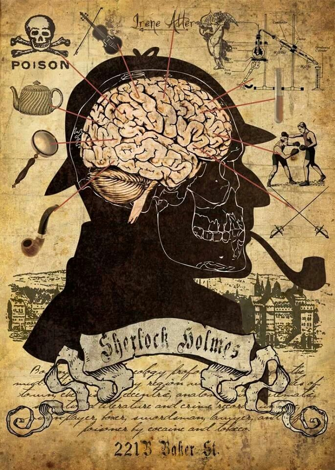 The mind of Sherlock Holmes
