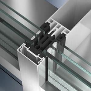 Unitized curtain wall / aluminum and glass FW 50+.SI & FW 60+.SI Schüco International